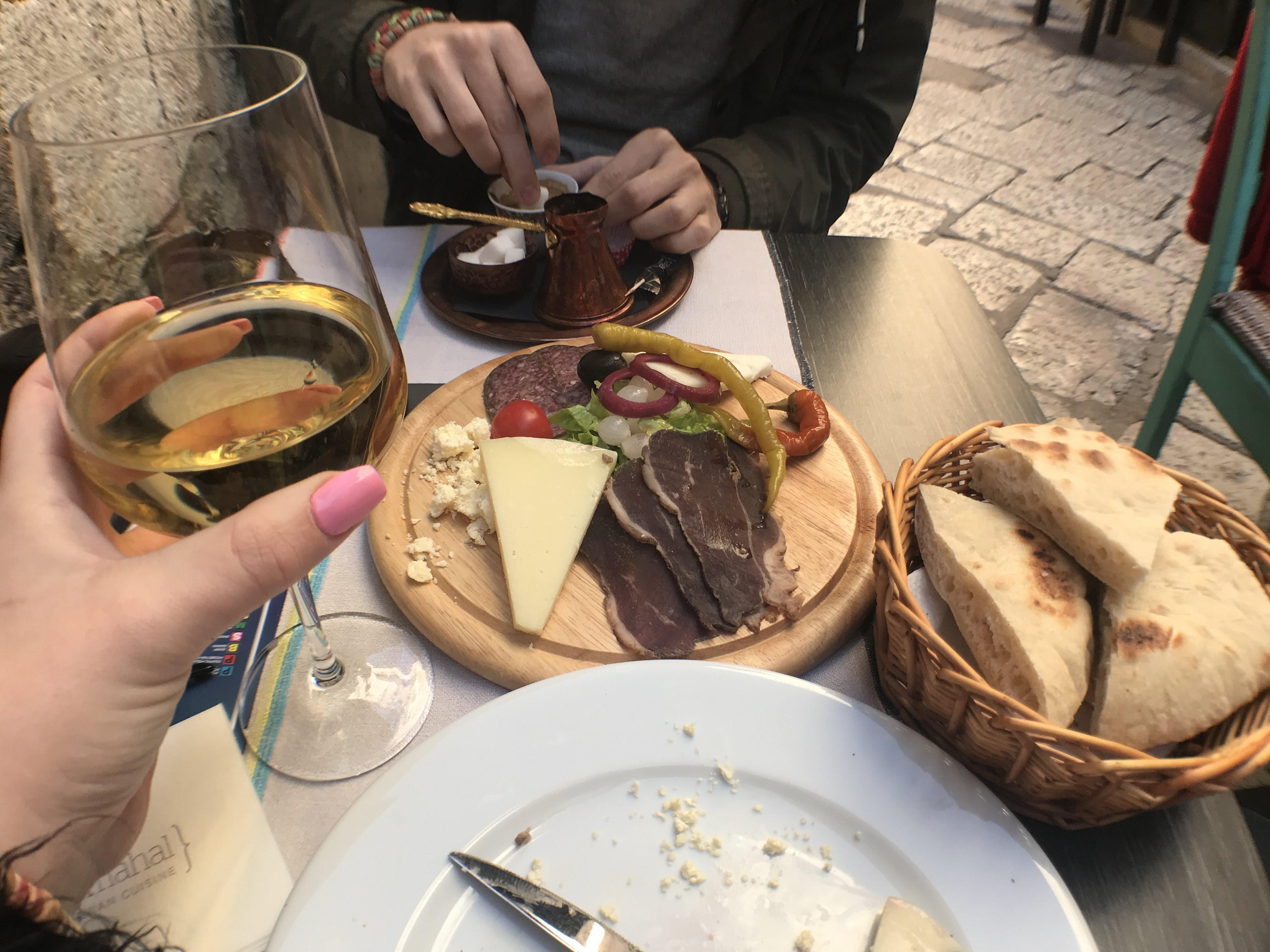 Doručak u Dubrovniku